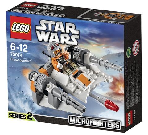 LEGO Star Wars: Снеговой спидер 75074 — Snowspeeder — Лего Звездные войны Стар Ворз