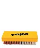 Щётка Toko ручная, комбинированная, нейлон + медь, 14 мм