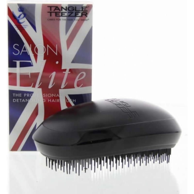 Tangle Teezer Salon Elite Hairbrush Midnight Black