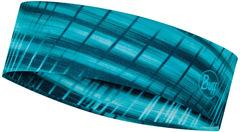 Узкая спортивная повязка на голову Buff Headband Slim CoolNet Keren Turquoise