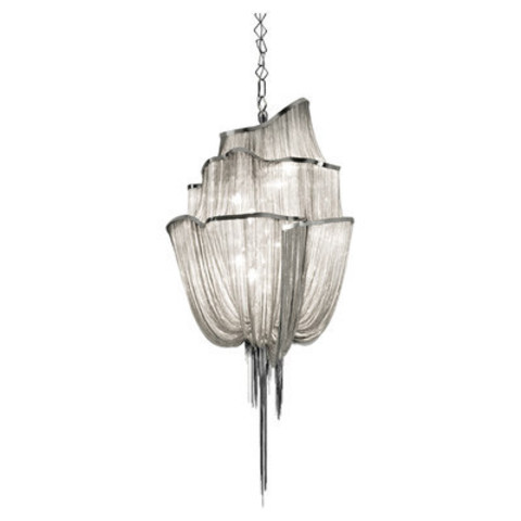 replica TERZANI   Atlantis 3 suspension lamp (silver)