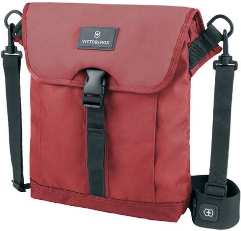 Сумка наплечная VICTORINOX Altmont™ 3.0 Flapover Bag, красная, нейлон Versatek™, 27x6x32 см, 5 л