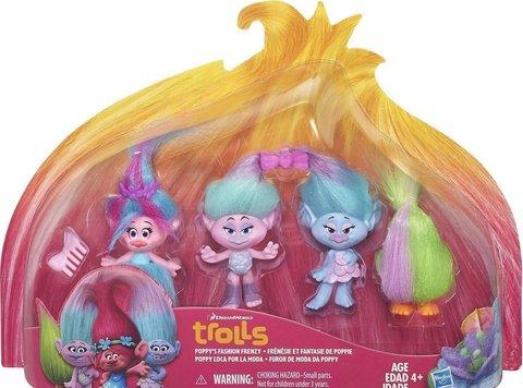 Oyuncaq DreamWorks Trolls Wild Hair Playset