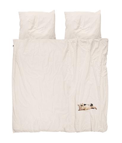 Комплект постельного белья Поросенок розовый 200x220см, Snurk