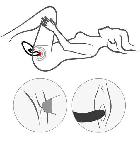 Womanizer DUO со стимуляцией клитора и точки G (черный)