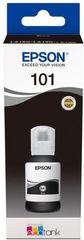 Картридж Epson L101 с черными чернилами Epson EcoTank для L4150/L4160/L6160/L6170/L6190. C13T03V14A 127 мл, Pigment