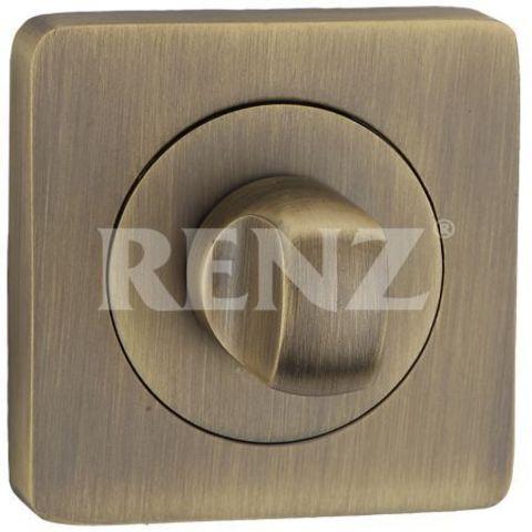 Завёртка К Ручкам  Renz BK 02, цвет бронза античная матовая