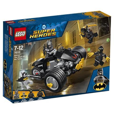LEGO Super Heroes: Бэтмен: Нападение Когтей 76110 — Batman: The Attack of the Talons — Лего Супергерои ДиСи