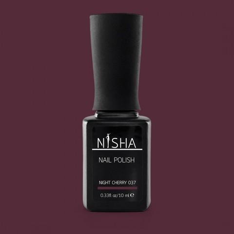 Гель-лак Nisha Night Cherry 037