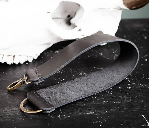 Кожаный ремень для правки опасной бритвы