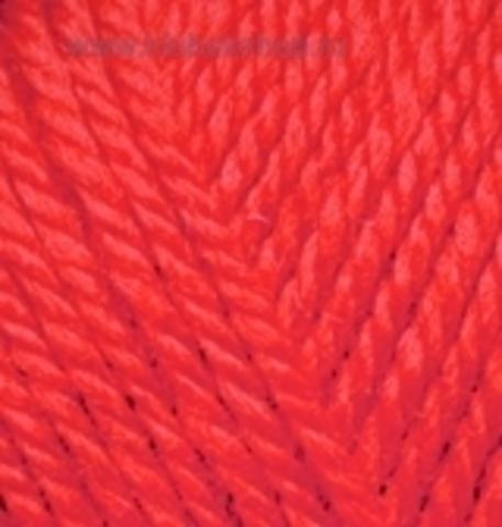 Пряжа Extra Alize Красный 56