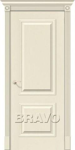 Дверь Bravo Вуд Классик-12, цвет ivory, глухая