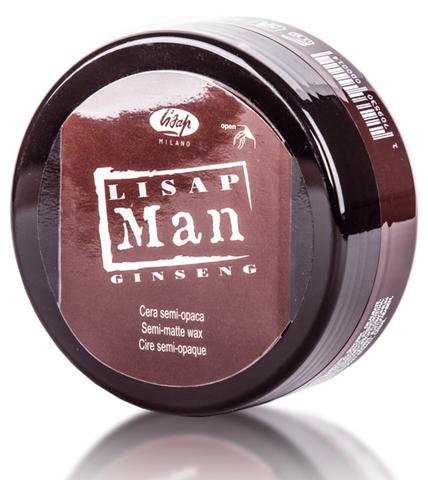 Матирующий воск для укладки волос для мужчин «Lisap Man Semi-Matte Wax»