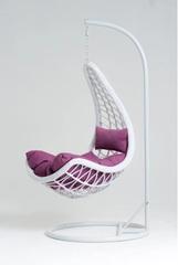 Подвесное кресло Vinotti Eliza White