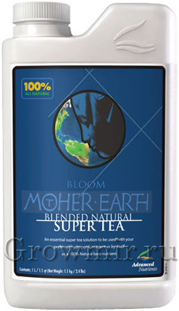 Mother Earth Super Tea Organic Bloom (1л или 5л)