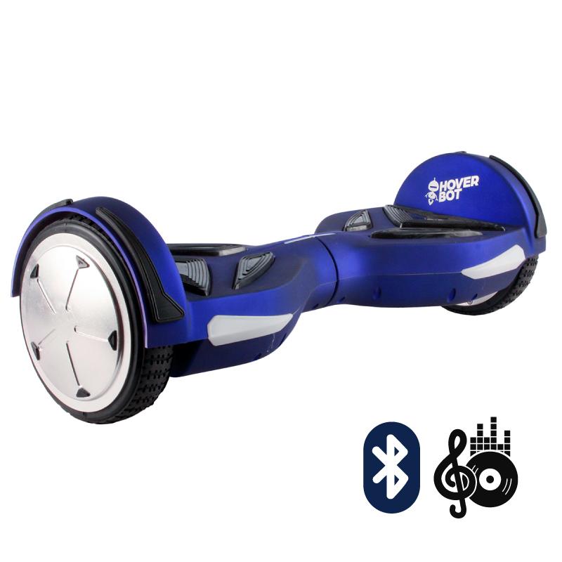 Hoverbot A5 синий матовый (Bluetooth-музыка + пульт + сумка) - 6,5 дюймов, артикул: 697915