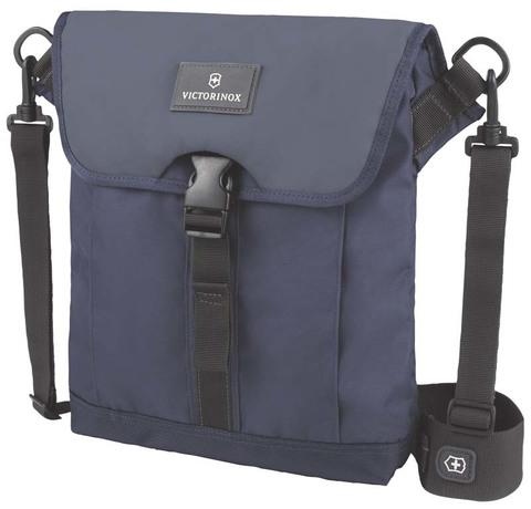 Сумка наплечная VICTORINOX Altmont™ 3.0 Flapover Bag, синяя, нейлон Versatek™, 27x6x32 см, 5 л