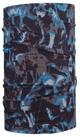 Бандана-труба 4Fun 7 continents Wolf Blue
