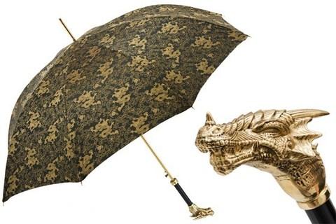 Зонт-трость Pasotti Golden Dragon Umbrella, Италия
