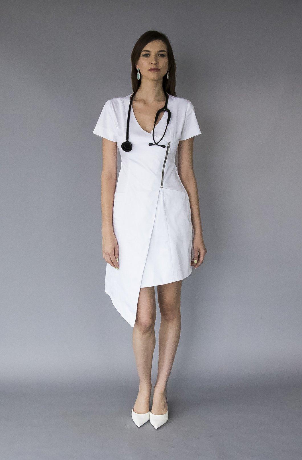 Медицинское платьее Poison Atelier
