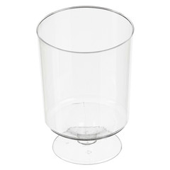 Бокал одноразовый д/вина 0,2 мл,кристалл,ПС 6шт./уп. 12уп./кор. Росси