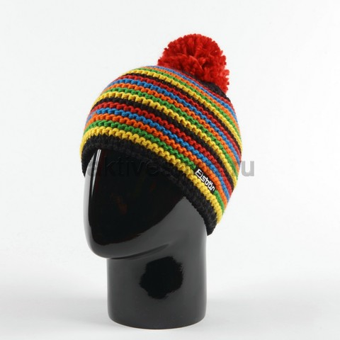 шапка Eisbar fan pompon tirol