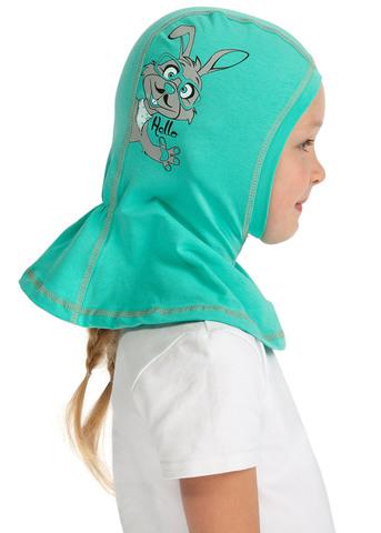 Шапка-шлем трикотажная