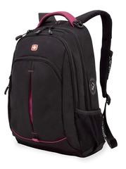 Рюкзак WENGER, цвет черный/фуксия (3165208408)