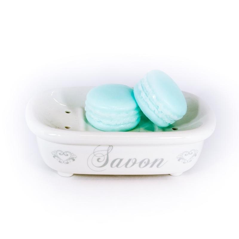 """Autour du Bain Мыло Макарон """"Ледяная мята"""" (Мыло в форме кексов и сладостей)"""