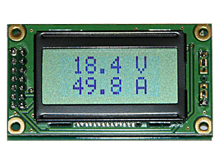 EK-SVAL0013PN-100V-E50A - цифровой вольтметр + амперметр постоянного тока
