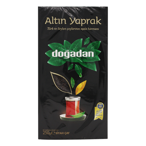 Турецкий черный чай Altin Yaprak, Dogadan, 250 г