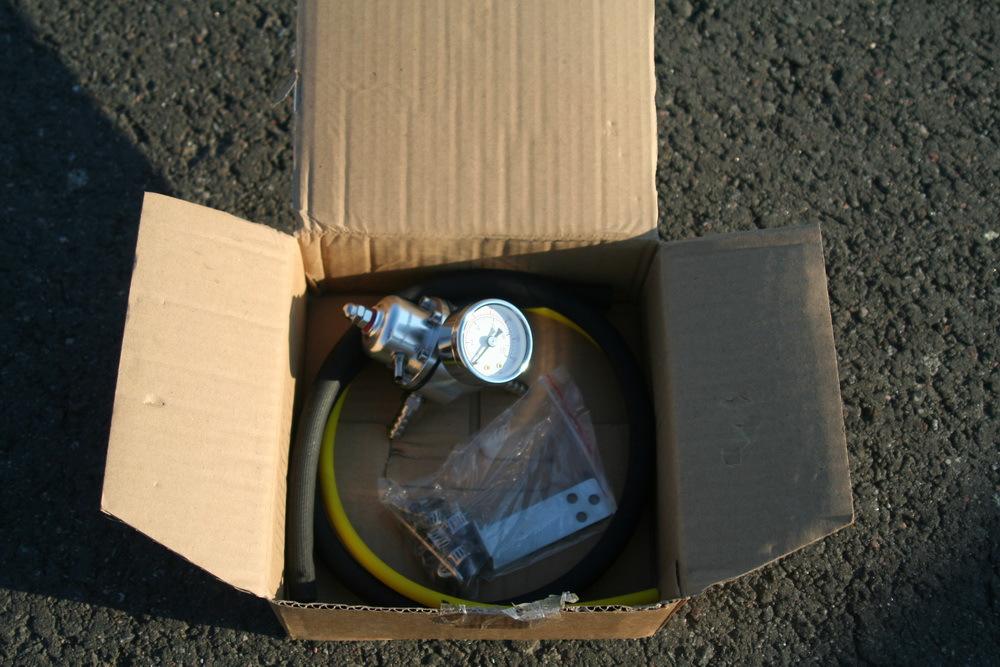 Регулятор топлива для атмо/турбо автомобилей универсальный
