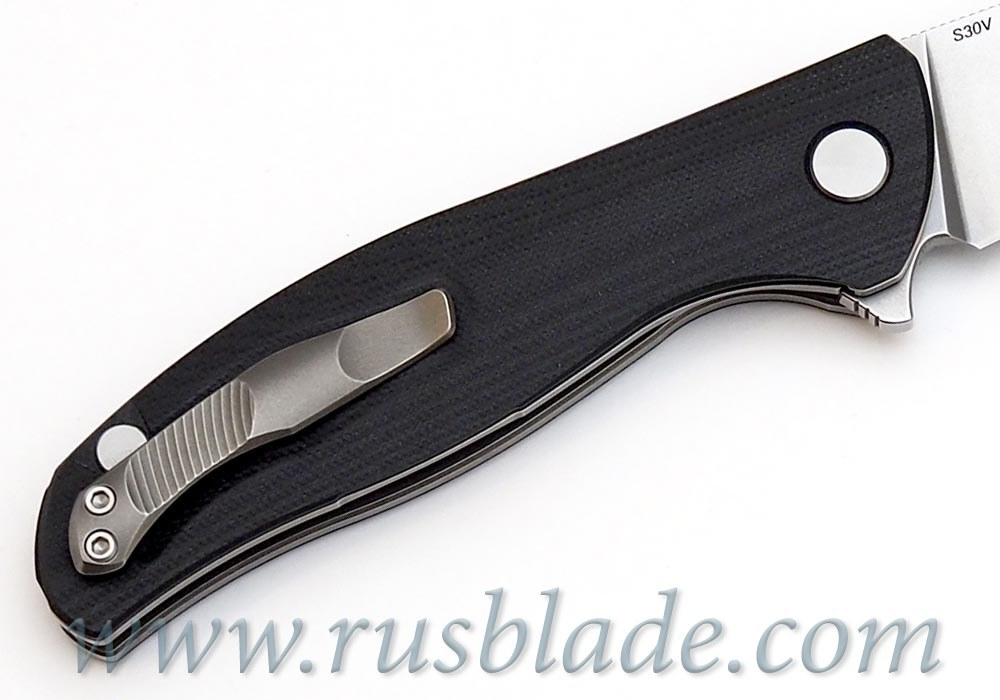 Shirogorov F3 S30V G10 black w/bearings