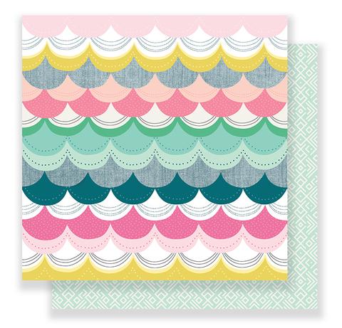 Лист двусторонней бумаги Bloom Collection by Maggie Holmes 30х30см