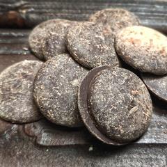 Какао-тертое (прессованная плитка, Испания), 200г