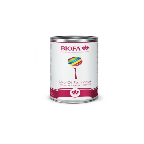 Biofa 8500 Цветное масло для интерьера (BIOFA Color-Oil For Indoors)