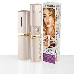 Увлажнитель ультразвуковой, US MEDICA, Aqua Balance AF, розово-золотой
