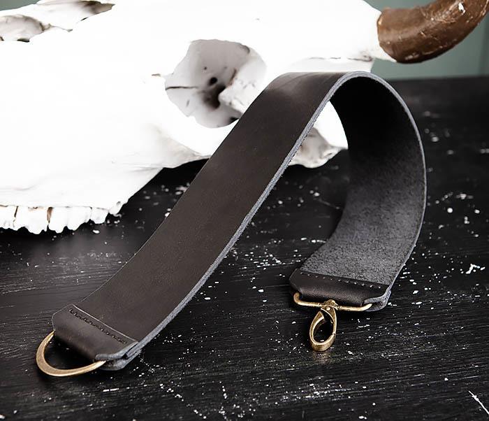 RAZ456-1 Кожаный ремень для правки опасной бритвы фото 04