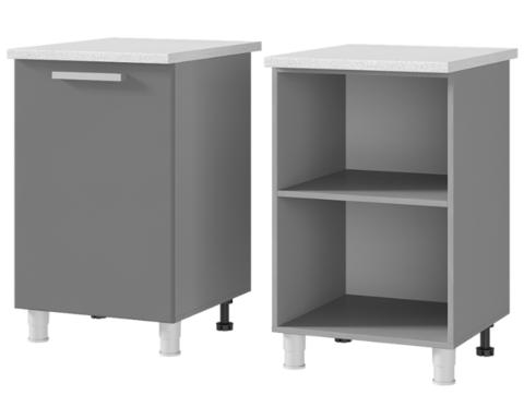 Шкаф-стол рабочий 1-дверный (600*820*600) 6Р1