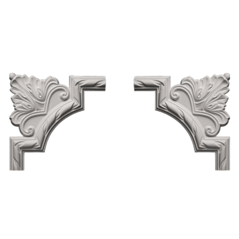 Угловой элемент Европласт из полиуретана 1.52.292, интернет магазин Волео