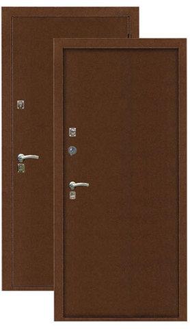 Дверь входная Легион T-1, 2 замка, 1,5 мм  металл, (медь+медь)