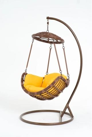 Подвесное кресло-качели Vinotti Izabella Brown