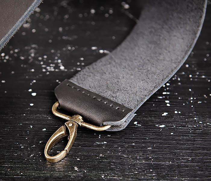 RAZ456-1 Кожаный ремень для правки опасной бритвы фото 05