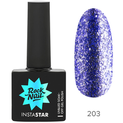 Гель-лак RockNail Insta Star 203 Nicki, 10мл.