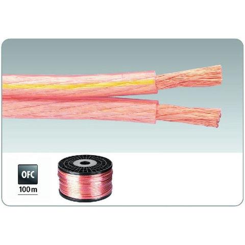 Медный акустический кабель в силиконовой изоляции 2х4мм2 Monacor SPC-140