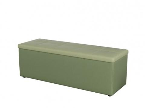 Пуф Orma Soft 2 двухместный Экокожа: Олива / зеленое яблоко