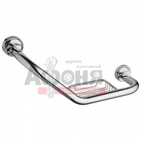 3519/L Поручень для ванной с мыльницей