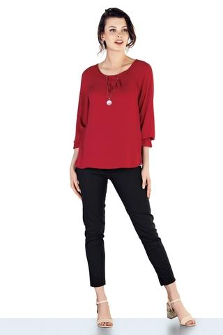 Блузка для беременных 10058 красный