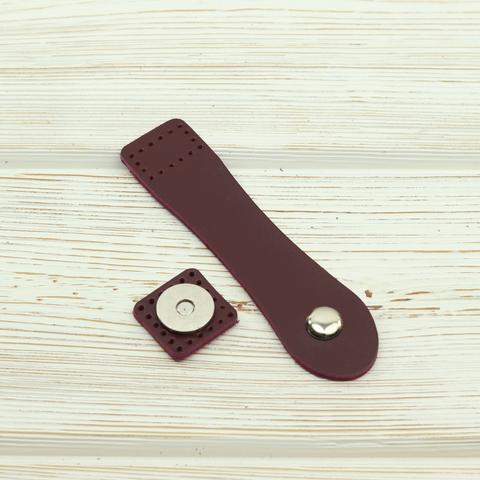 "Застежка для сумки ""Вино"" с магнитной кнопкой"