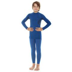 Комплект термобелья детский Brubeck Thermo для мальчиков синий (LE11010-LS11720)
